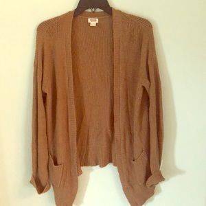 Mossimo Burnt Orange Cardigan